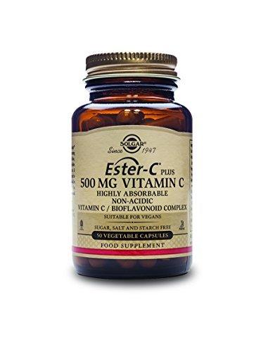 Solgar Ester-C Plus Vitamin C Ester-C Ascorbate Complex Vegetable Capsules, 500