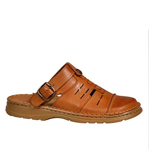 274914700297 Lukpol Mens Orthopedic Form Buffalo Leather Sandals Model-839