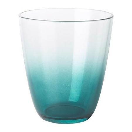 00933ad1b21 ZigZag Trading Ltd IKEA TOMMA - Glass Dark blue 6 pack: Amazon.co.uk ...