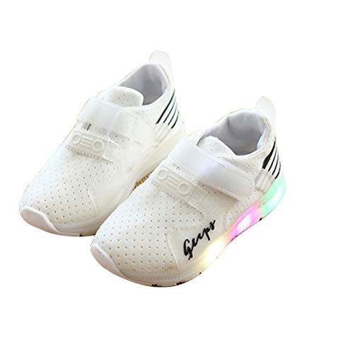 Zarachielly Kids Boys Girls LED Light up Shoes Flashing Sneakers Toddler/Litter Kids