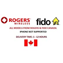 Rogers & Fido canada Unlock service. All devices Supported, Any brand, any model from Rogers & Fido Canada (iphone not supported)...Delivery Time:1 - 12 Hours …****Dial *#06# to get the IMEI number of the device you want to unlock and send me the 15-digits IMEI in a message to process your order****