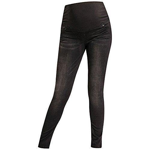 JoJo Maman Bébé Black Super Skinny Maternity Jeans