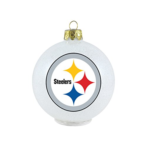 NFL Pittsburgh Steelers LED Color Changing Ball Ornament at Steeler Mania