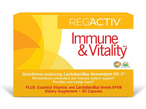 Reg Pack - Reg'Activ Immune & Vitality with Lactobacillus fermentum ME-3, brevis KP08, L-Carnatine tartrate