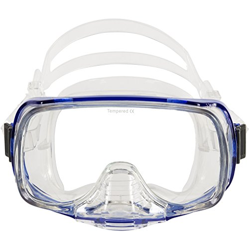 (IST Imperial Panoramic View Hands-Free Water Mask (Clear Blue))
