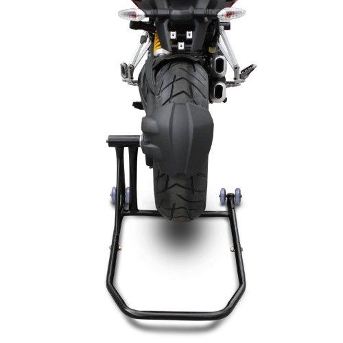 ConStands Rear Paddock Stand Ducati 1198 09-11 black adaptor incl. Single Swing Arm