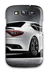 Durable Case For The Galaxy S3- Eco-friendly Retail Packaging(maserati Mc Sport Line Rear Maserati Car )