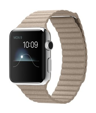 Apple Watch 42mm Lサイズ MJ442J/A [ストーンレザーループ]