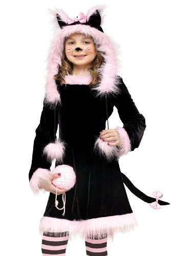 [Pretty Kitty Costume - Large] (Child Pretty Kitty Costumes)
