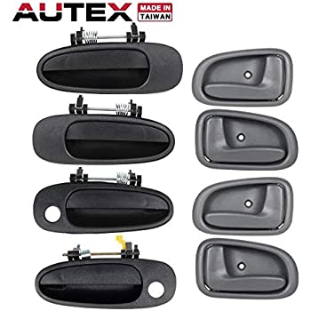 4Pc Outside Door Handles Front Rear Left Right For Toyota Camry 4PCS 69220-33020