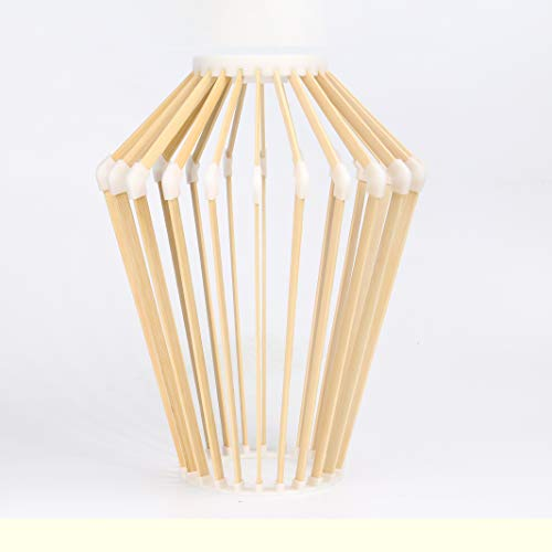 JinYe Lamp 3D Printing Bamboo - Wheat 4 Chandelier Light