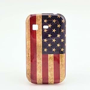 conseguir Caja de protección de plástico EE.UU. Retro para Samsung Galaxy Pocket / S5300