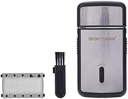 Sportsman Hombres 2 en 1 mini afeitadora eléctrica barbero ...