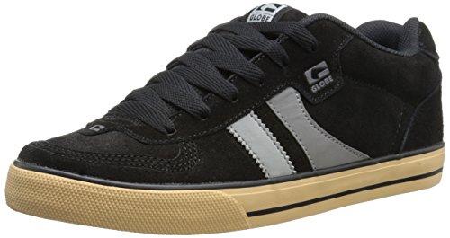 Globe Men's Encore Skateboard Shoe, Black/Charcoal, 11 M US