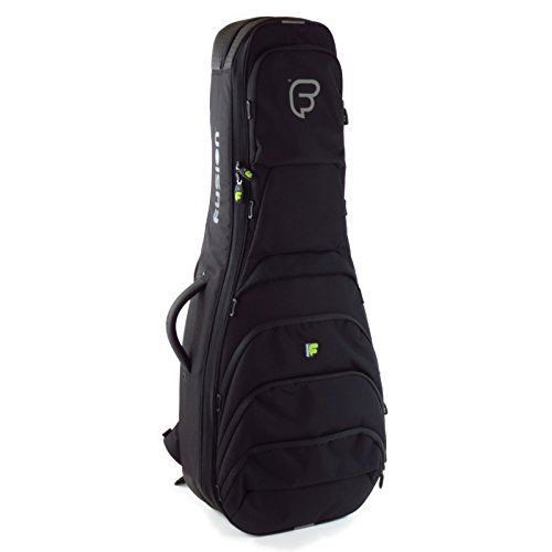 Fusion FB-UG-05-BK Urban Series - Double Electric Gig Bag, Black/Blue