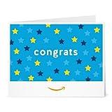 Amazon Gift Card - Print - Congrats (Stars)