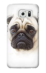 S1852 Pug Dog Case Cover For Samsung Galaxy S6 Edge