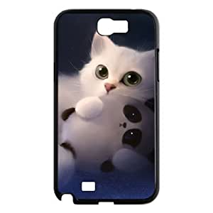 VNCASE Lovely Cat Phone Case For Samsung Galaxy Note 2 N7100 [Pattern-1]