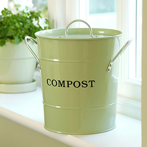 2-N-1 Kitchen Bucket small- Oatmeal Color (Commercial Oatmeal)