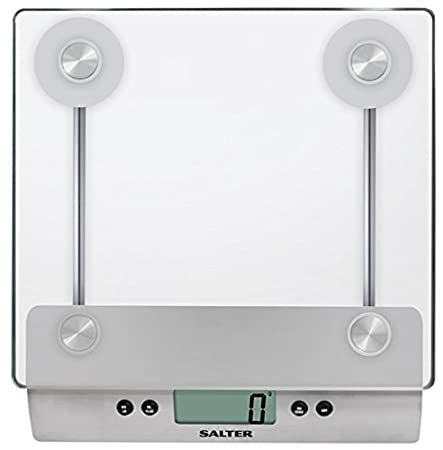 salter aquatronic digital kitchen weighing scales stylish glass rh amazon co uk