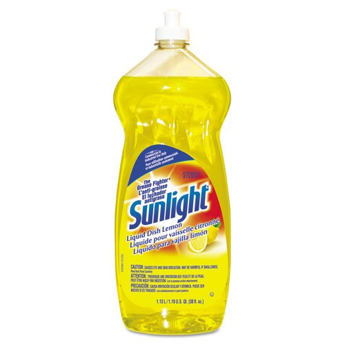 Sunlight Liquid Dish Detergent, Lemon, 38 oz. Bottle (9/Carton) - BMC-DRA5729811CT