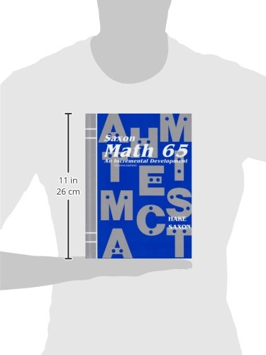 Math 65: An Incremental Development by Brand: Saxon Publishers (Image #2)