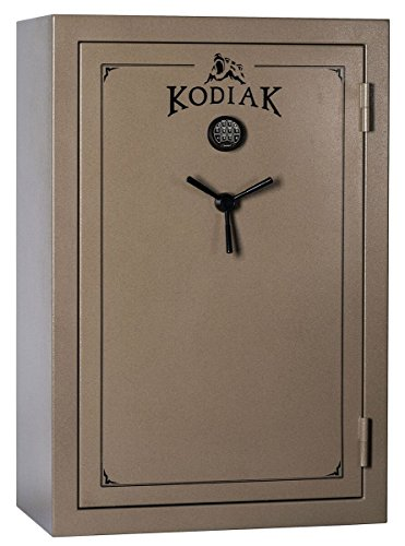 Kodiak K5940EX Gun Safe by Rhino Metals, 52 Long Guns & 8 Handguns, 677 lbs, 60 Minute Fire Protection, Electronic Lock, Patented Swing Out Gun Rack Compatible and Bonus Deluxe Door Organizer