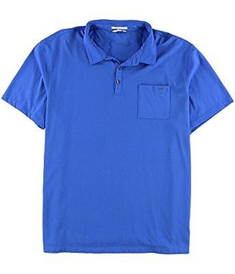 Calvin Klein Men's Liquid Cotton Polo