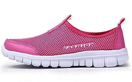 Amazon.com: JingZhou - Zapatillas para hombre, talla grande ...