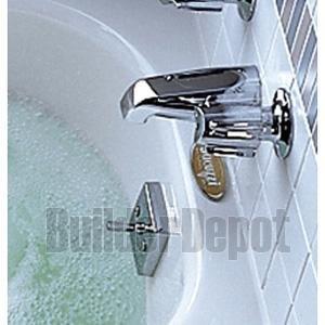 - Jacuzzi X559827CP Non-Metallic Trip Lever PVC Drain Kit, Chrome Finish