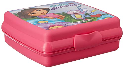 Tupperware Dora Sandwich Keeper Lunch Box