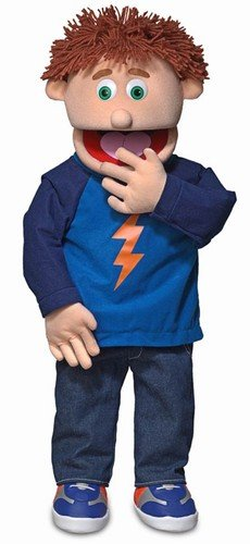 "Silly Puppets 30"" Tommy, Peach Boy, Professional Performa..."