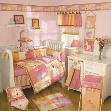 Cocalo Tropical Punch 4-Piece Crib Bedding - Bedding Crib Set Tropical Punch