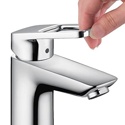 Hansgrohe Logis Loop, Single-Hole Lavatory Faucet (Chrome) 04577000 ...