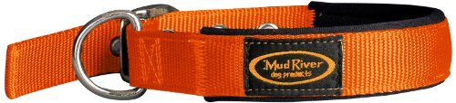 Mud River The Swagger Collar (Blaze Orange, X-Large)