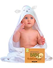 Baby Hooded Towel - Bamboo Baby Towel by KeaBabies - Organic Bamboo Towel - Infant Towels - Large Bamboo Hooded Towel - Baby Bath Towels with Hood for Girls, Babies, Newborn Boys, Toddler
