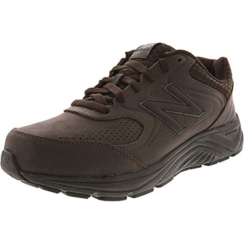 New Balance Men's MW840v2 Walking Shoe, Brown, 10 4E US