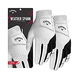 Callaway 2019 Men's Weather Spann Golf Glove
