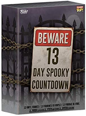 Funko 재림절 달력: 13 - Day Spooky Countdown 멀티컬러 / Funko 재림절 달력: 13 - Day Spooky Countdown 멀티컬러