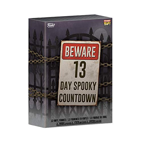 Funko- Advent Calendar Pocket Pop 13-Day Spooky Countdown Figura Coleccionable, Multicolor (48114)