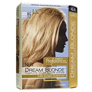 amazoncom loreal superior preference dream blonde hair