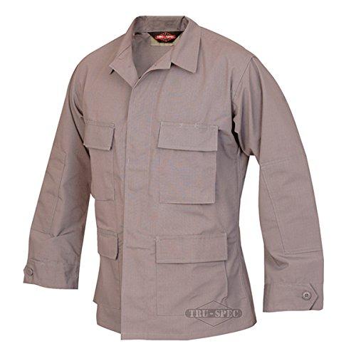 Tru-Spec Classic BDU Coat Polyester-Cotton Ripstop Grey XXL-Reg 1301007