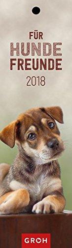 Für Hundefreunde 2018: Lesezeichenkalender