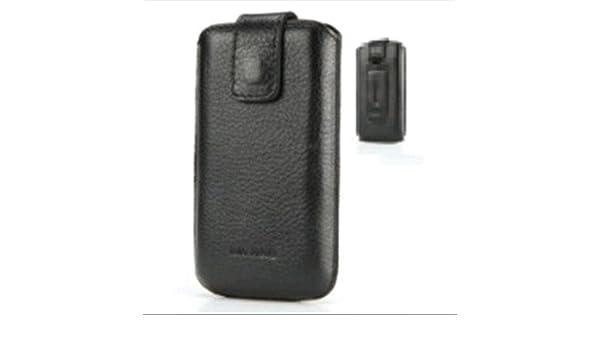 my-axe my-Fog-mxlne Vertical Leather Black XL Fundas: Amazon.es: Electrónica