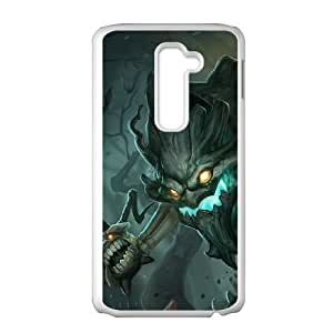 LG G2 Cell Phone Case White League of Legends Haunted Maokai PD5383507