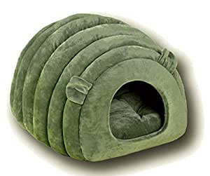 Amazon.com : Lcslj Cat House Dome Type cat Bed Pet Bed