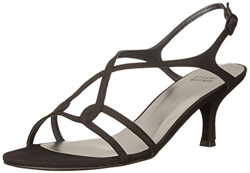 Reversal Gold Women's Black Weitzman Stuart Dress Sandal q6PwOx