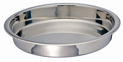 Kitchen Supply 3524 Stainless Steel Round Cake Pan, 9-Inches