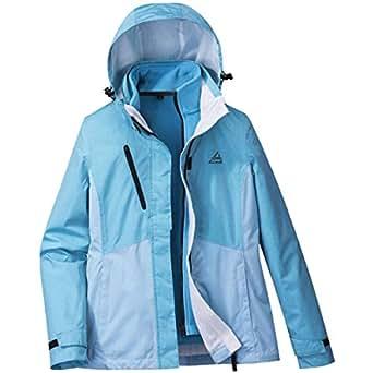 Amazon.com: 33000ft Womens 3-in-1 Waterproof Ski Jacket