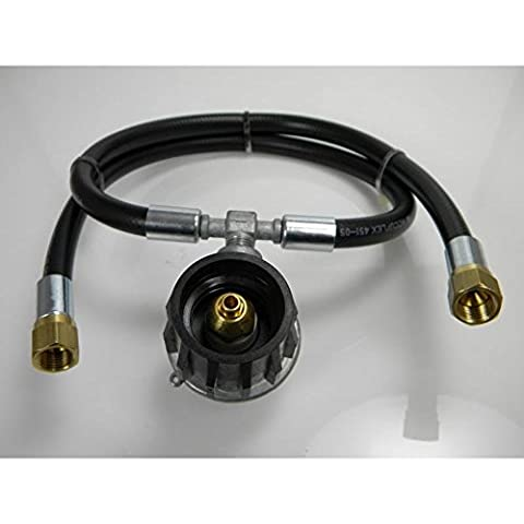 Dual Outlet Low Pressure Propane Regulator Assembly (Mb Smoker)